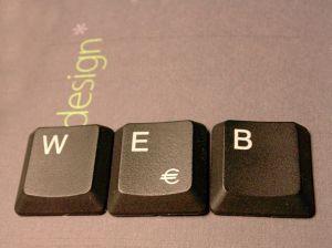 Geschäftspräsentation im Web